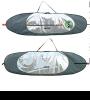 "SUP Board Bag HD 11'6"""